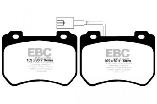 DPX2074 Ultimax2 Front Brake Pads (Street) EBC Brakes