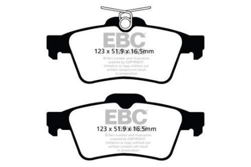 DPX2121 Ultimax2 Rear Brake Pads (Street) EBC Brakes