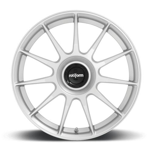 Rotiform DTM 19X8.5 ET45 5X108|5X114.3 72.56 Silver