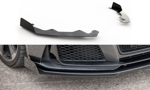 Audi RS3 8V 15-16 Add-On Splitters Maxton Design