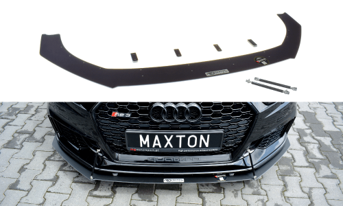 Audi RS3 17-20 8V Racing Frontsplitter V.1 Facelift Sportback Maxton Design