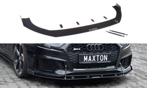Audi RS3 17-20 8V Racing Frontsplitter V.2 Facelift Sportback Maxton Design