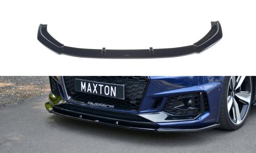 Audi RS4 B9 17+ Front Splitter V.1 Maxton Design