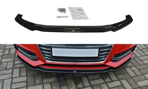 Audi A4 B9 S-Line 15-19 Front Splitter V.1 Maxton Design