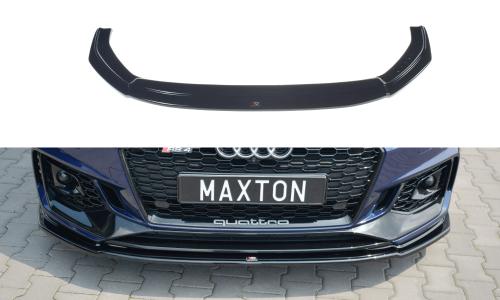 Audi RS4 B9 17+ Front Splitter V.2 Maxton Design