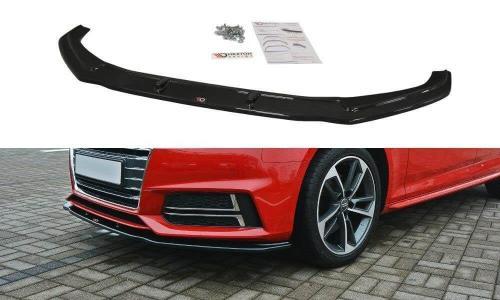 Audi A4 B9 S-Line 15-19 Front Splitter V.2 Maxton Design