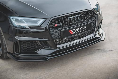 Audi RS3 17+ 8V Frontsplitter V.3 Facelift Maxton Design