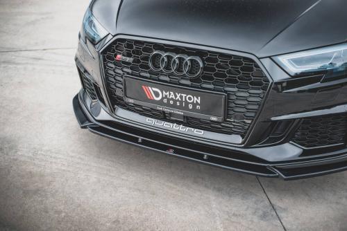 Audi RS3 17+ 8V Frontsplitter V.4 Facelift Maxton Design