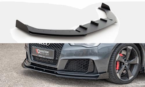 Audi RS3 8V 15-16 Racing Frontsplitter Durability & Add-On Splitters Sportback Maxton Design