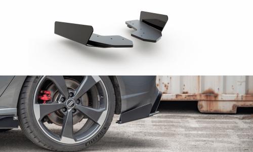 Audi RS3 8V 15-16 Racing Side Splitters & Add-On Durability Sportback Maxton Design