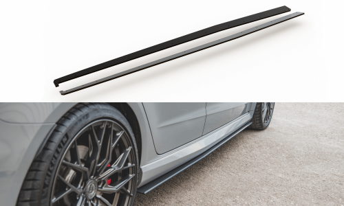 Audi RS3 8V 15-16 Sidokjolar Durability Sportback Maxton Design