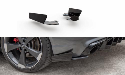 Audi RS3 8V 15-16 Add-On Till Racing Bak Sido Splitters Durability Sportback Maxton Design
