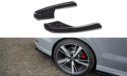 Audi RS3 8V 17-20 Bakre Sido Splitters V.1 Sedan Facelift Maxton Design
