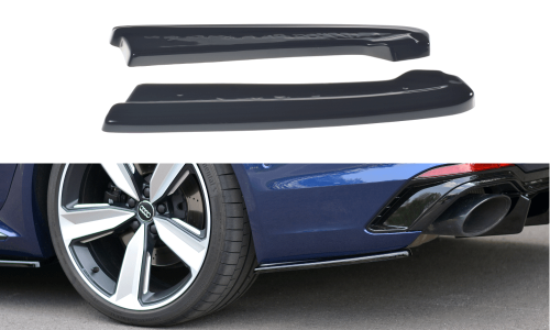 Audi RS4 B9 17+ Rear Side Splitters Maxton Design