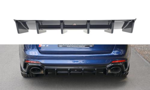 Audi RS4 B7 17+ Rear Valance Maxton Design
