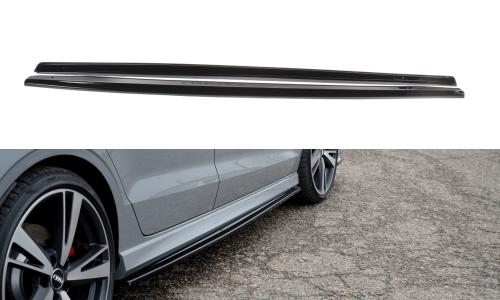 Audi RS3 17-20 8V Sidokjolar Sedan Maxton Design