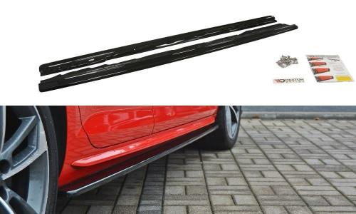 Audi A4 B9 S-Line 15+ Side Extensions Maxton Design