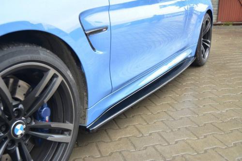 BMW M4 F82 Sidoextensions Maxton Design