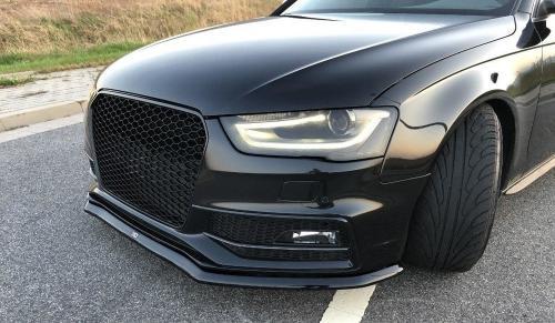 Audi S4 / A4 S-Line B8 11-15 (Facelift) Frontsplitter V1 Maxton Design