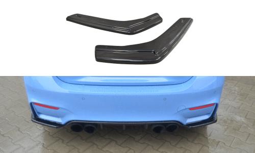 BMW M4 F82 Bakre Sido Splitters Maxton Design