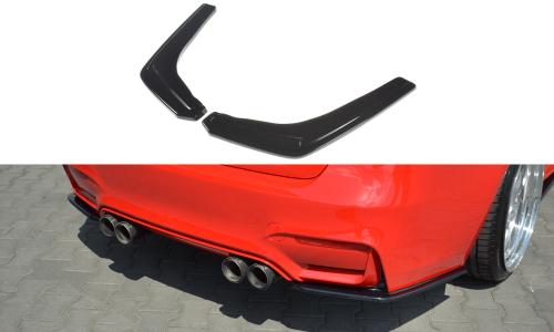 BMW M3 F80 Rear Side Splitters V.1 Maxton Design