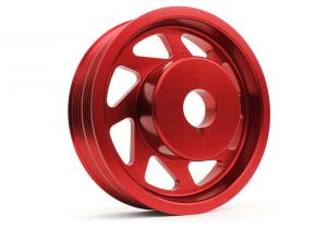 All WRX Crank Pulley Red PERRIN