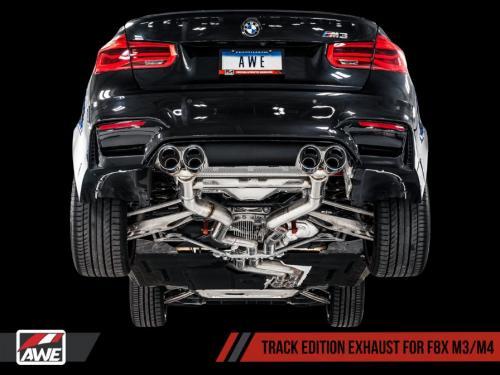 BMW M3 / M4 F8x Catback Track Edition AWE Tuning
