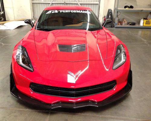 Chevrolet Corvette C7 2014- Carbon Fiber Front Airdam