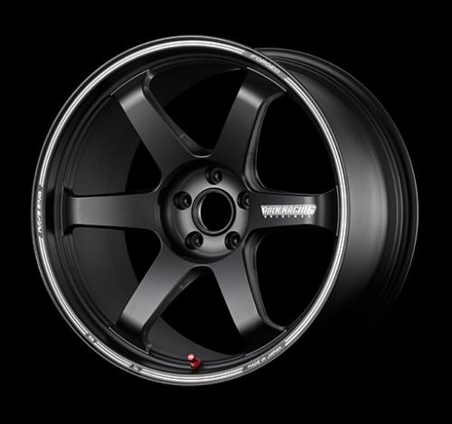 TE37 Ultra Track Edition II 5x130 Blast Black Volk Racing RAYS