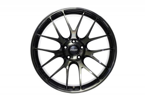 G27 Progressive 5x120 Pressed Black Clear Volk Racing RAYS