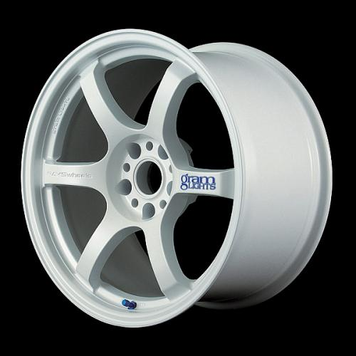 Gram Lights 57DR, 15X8.0, 28, 4x100, WHITE
