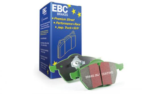 DP21186 Greenstuff Rear Brake Pads (Street) EBC Brakes
