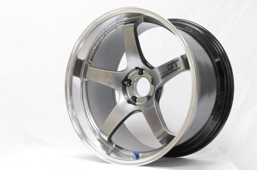 Advan GT 18x10,0 +22 5-114,3 Machining & Racing Metal Svart Fälg