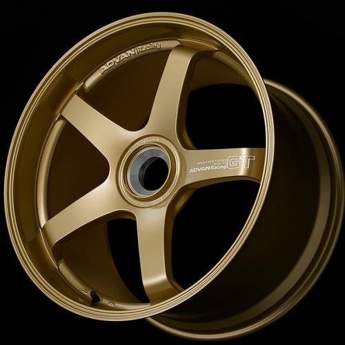 Advan GT Premium Version (Center Lock) 18x12,0 +47 Racing Guld Metallic Fälg