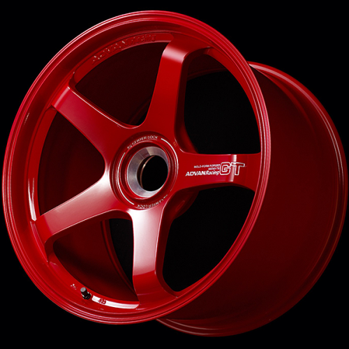 Advan GT Premium Version (Center Lock) 20x9 +49 Racing Candy Red Wheel (Porsche)