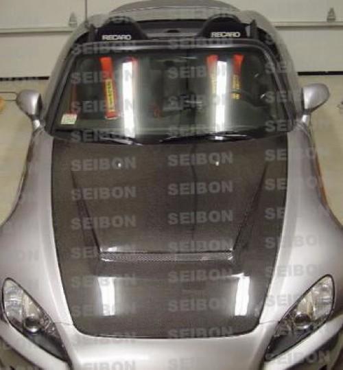 SEIBON 00-08 Honda S2000 Carbon Fiber Hood VSII AP1//AP2