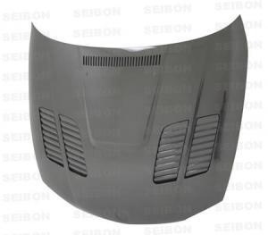 1 SERIES 2DR/HB (E81/E82) Incl. 1M 2008 - 2012 GTR-style Kolfiberhuv SEIBON