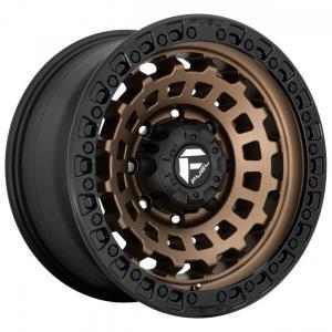 ZEPHYR 17X8 38ET 8X6.5 MATTE BRONZE BLACK BEAD RING Fuel