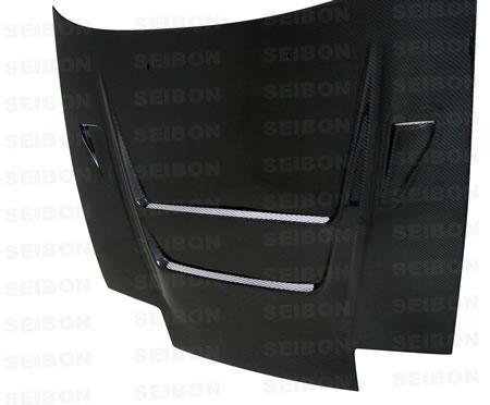 180SX / 240SX (S13)* 1989 - 1994 DVII-style Kolfiberhuv SEIBON