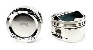 02+ Acura RSX (K20A-A2-A3) 86mm STD Bore 11.5:1 Dome Piston Set with Rings