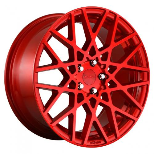Rotiform 1PC Blq 18X8.5 ET45 5X112 66.56 Candy Red