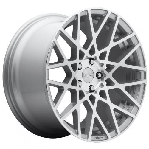 Rotiform 1PC Blq 18X8.5 ET35 5X100 57.10 Gloss Silver Machined