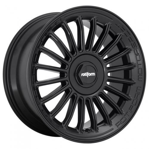 Rotiform 1PC Buc-M 19X8.5 ET35 5x114.3/120 72.56 Matte Black