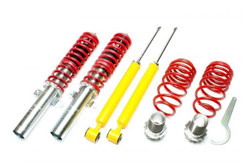 Audi A1 / Seat Ibiza 3+IV / Skoda Fabia I-3 / VW Fox / Polo -1999 Coilovers TA Technix