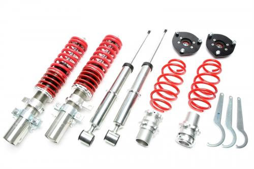 Audi A2 / Seat Ibiza III / Skoda Fabia I-II / VW Fox, Polo 9N (Låg Version) Coilovers TA Technix