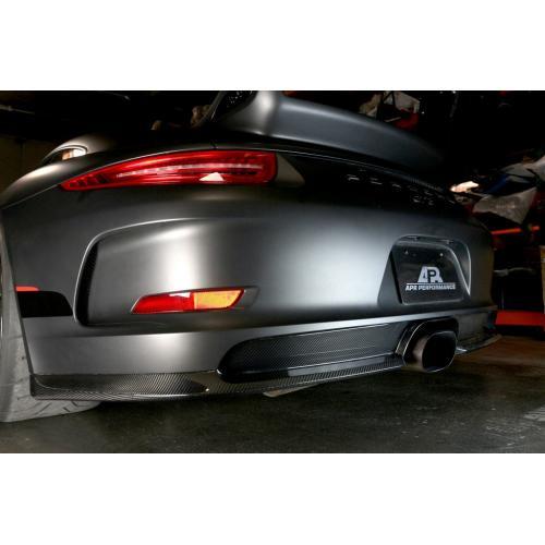 Porsche991 GT3 Bakre Diffuser Kolfiber 2014+ APR Performance