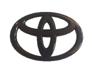 GT86 13-16 Blanksvart Toyota Emblem Bak JDM Station