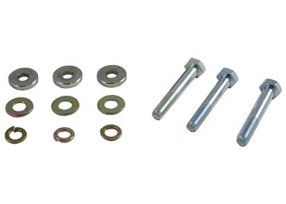 Focus Inkl ST 06-12 / Mazda 3 Inkl MPS 03-14 / C30 06-13 / C70 06-13 / S40 04-12 / V50 04-12 Bump Steer Korrigering Whiteline Performance