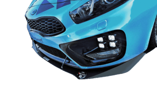 KIA Ceed / Pro Ceed 13-18 Racing Frontsplitter V.1 Maxton Design