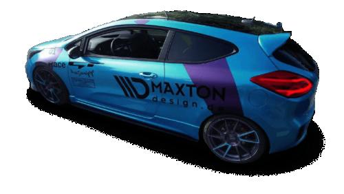 KIA Ceed / Pro Ceed 13-18 Racing Sidoextensions V.1 Maxton Design